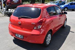 2014 Hyundai i20 PB MY14 Active Red 6 Speed Manual Hatchback.