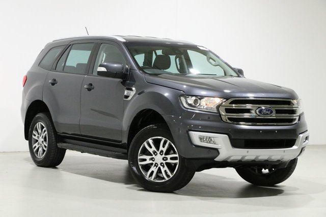 Used Ford Everest UA MY18 Trend (4WD) Bentley, 2018 Ford Everest UA MY18 Trend (4WD) Grey 6 Speed Automatic SUV