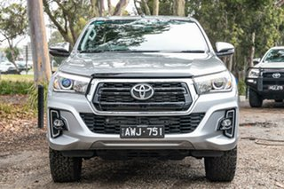 2018 Toyota Hilux GUN126R SR5 Double Cab Silver 6 Speed Sports Automatic Utility