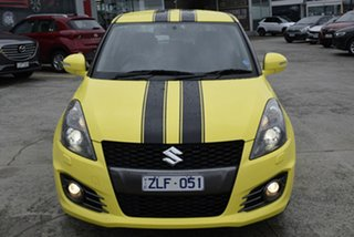2012 Suzuki Swift FZ Sport Yellow 6 Speed Manual Hatchback