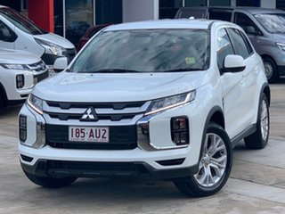 2020 Mitsubishi ASX XD MY21 ES 2WD White 1 Speed Constant Variable Wagon.