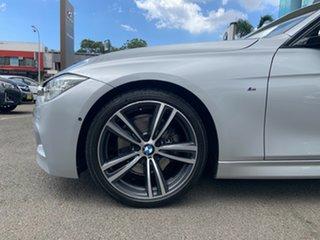 2015 BMW 330i F30 LCI M Sport Glacier Silver 8 Speed Automatic Sedan.