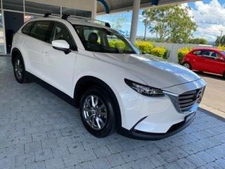 2016 Mazda CX-9 Touring Snowflake White Pearl Sports Automatic Wagon.
