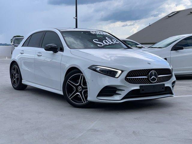 Used Mercedes-Benz A-Class W177 A200 DCT Liverpool, 2018 Mercedes-Benz A-Class W177 A200 DCT White 7 Speed Sports Automatic Dual Clutch Hatchback
