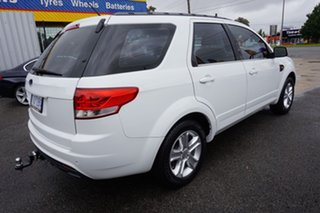 2011 Ford Territory SZ TX Seq Sport Shift Winter White 6 Speed Sports Automatic Wagon