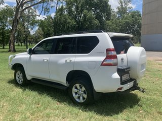 2015 Toyota Landcruiser Prado KDJ150R MY14 GXL White 5 Speed Sports Automatic Wagon