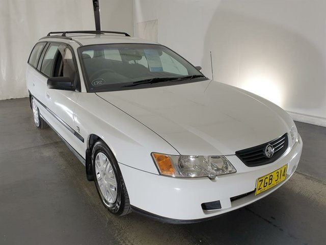 Used Holden Commodore VY II Executive Maryville, 2004 Holden Commodore VY II Executive White 4 Speed Automatic Wagon