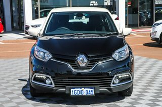 2016 Renault Captur J87 Expression EDC Black / Wh 6 Speed Sports Automatic Dual Clutch Hatchback
