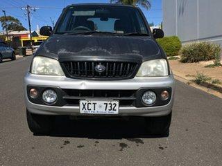 2004 Daihatsu Terios J102 DX Black 5 Speed Manual Wagon