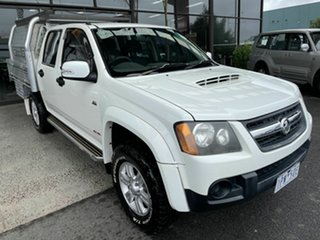 2008 Holden Colorado RC MY09 LX (4x4) White 5 Speed Manual Cab Chassis.