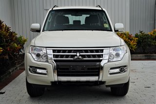 2020 Mitsubishi Pajero NX MY21 GLX Warm White 5 Speed Sports Automatic Wagon.