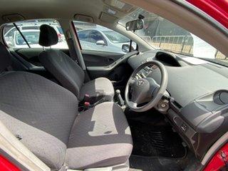 2010 Toyota Yaris NCP90R MY10 YR Red 5 Speed Manual Hatchback