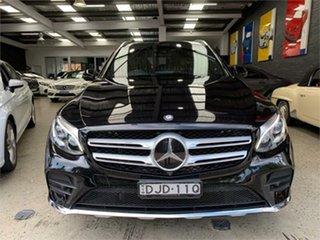 2016 Mercedes-Benz GLC-Class X253 GLC250 Black Sports Automatic Wagon.