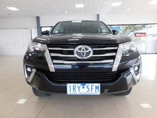 2018 Toyota Fortuner GUN156R Crusade Black 6 Speed Automatic Wagon.