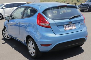 2010 Ford Fiesta WS CL Blue 4 Speed Automatic Hatchback.