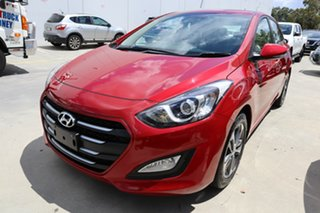 2016 Hyundai i30 GD4 Series II MY17 Active Red/Black 6 Speed Sports Automatic Hatchback