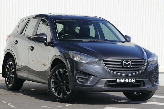 Used Mazda CX-5 KE1032 Grand Touring SKYACTIV-Drive AWD Wollongong, 2015 Mazda CX-5 KE1032 Grand Touring SKYACTIV-Drive AWD Grey 6 Speed Sports Automatic Wagon