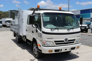 2011 Hino Dutro 816 White Manual Tipper.