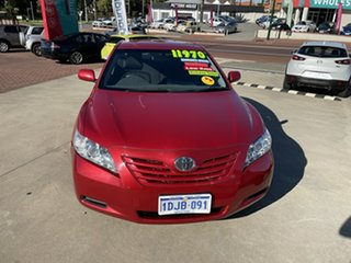 2007 Toyota Camry ACV40R Altise Red 5 Speed Automatic Sedan