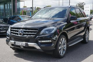 2012 Mercedes-Benz M-Class W166 ML350 BlueTEC 7G-Tronic + Black 7 Speed Sports Automatic Wagon