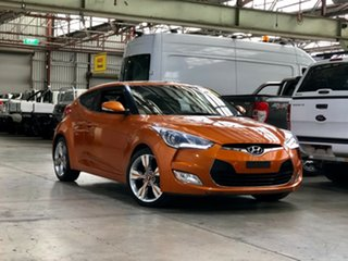 2012 Hyundai Veloster FS Coupe D-CT Orange 6 Speed Sports Automatic Dual Clutch Hatchback.