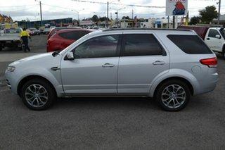 2012 Ford Territory SZ Titanium (RWD) Silver 6 Speed Automatic Wagon.