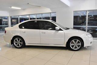 2008 Subaru Liberty B4 MY08 3.0R AWD Premium White 5 Speed Sports Automatic Sedan.