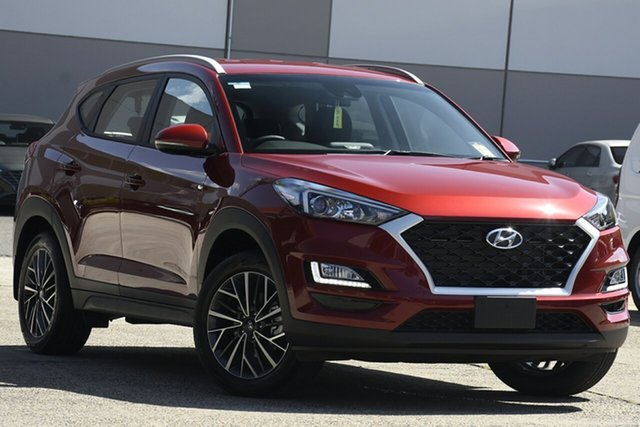 New Hyundai Tucson TL4 MY21 Active X 2WD Nunawading, 2020 Hyundai Tucson TL4 MY21 Active X 2WD Crimson Red 6 Speed Automatic Wagon