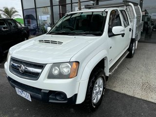 2008 Holden Colorado RC MY09 LX (4x4) White 5 Speed Manual Cab Chassis