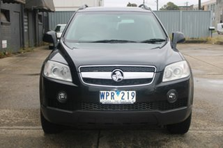 2008 Holden Captiva CG MY09 CX (4x4) Black 5 Speed Automatic Wagon.