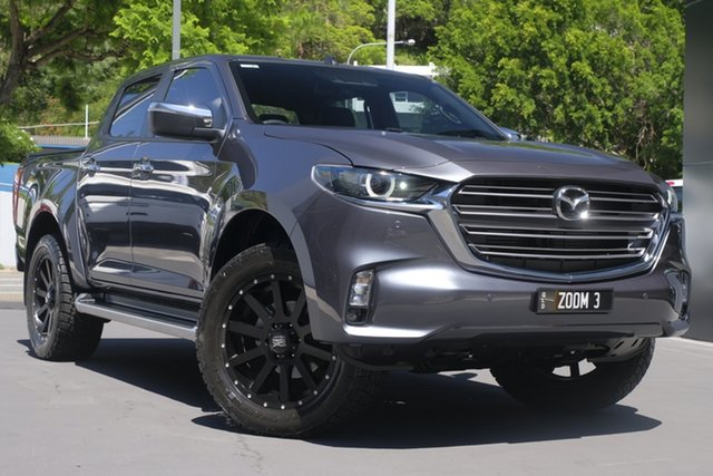 Demo Mazda BT-50 TFS40J GT Newstead, 2020 Mazda BT-50 TFS40J GT Rock Grey 6 Speed Sports Automatic Utility