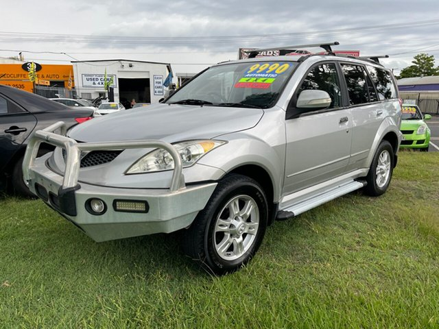 Used Great Wall X200 K2 MY13 Clontarf, 2013 Great Wall X200 K2 MY13 Silver 5 Speed Automatic Wagon