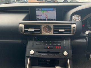 2016 Lexus IS200T ASE30R MY16 F Sport Silver 8 Speed Automatic Sedan