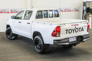 2017 Toyota Hilux GUN125R MY17 Workmate (4x4) Glacier White 6 Speed Automatic Dual Cab Utility.
