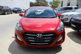 2016 Hyundai i30 GD4 Series II MY17 Active Red/Black 6 Speed Sports Automatic Hatchback.