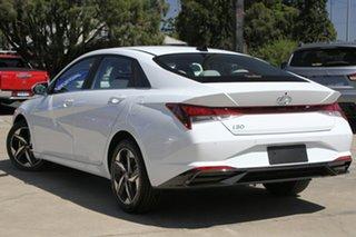 2020 Hyundai i30 CN7.V1 MY21 Elite Polar White 6 Speed Sports Automatic Sedan.