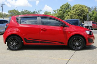 2015 Holden Barina TM MY15 X Red 6 Speed Automatic Hatchback