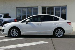 2011 Subaru Impreza G4 MY12 2.0i-L Lineartronic AWD White 6 Speed Constant Variable Sedan