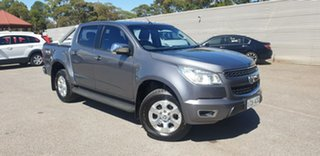 2014 Holden Colorado RG MY14 LTZ Crew Cab Grey 6 Speed Manual Utility.