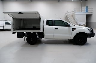 2014 Ford Ranger PX XL White 6 Speed Manual Cab Chassis