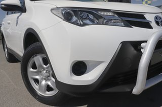 2015 Toyota RAV4 ALA49R GX AWD Glacier White 6 Speed Sports Automatic Wagon.