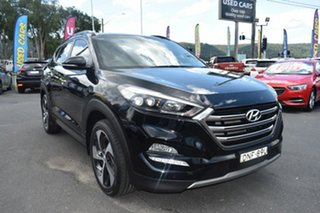 2016 Hyundai Tucson TLE Highlander AWD Black 6 Speed Sports Automatic Wagon