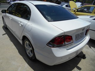 2010 Honda Civic 8th Gen MY10 VTi White 5 Speed Automatic Sedan