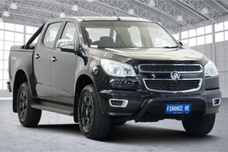 2015 Holden Colorado RG MY16 LTZ Crew Cab Black 6 Speed Sports Automatic Utility.