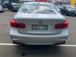 2015 BMW 330i F30 LCI M Sport Glacier Silver 8 Speed Automatic Sedan