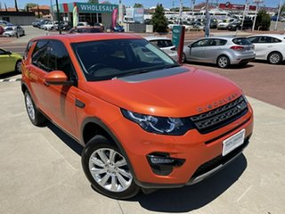 2016 Land Rover Discovery Sport L550 16.5MY SE Orange 9 Speed Sports Automatic Wagon.