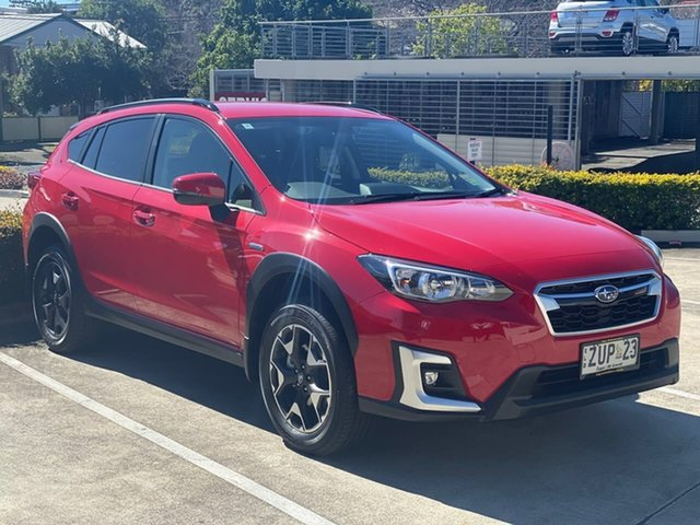 Demo Subaru XV G5X MY20 Hybrid Lineartronic AWD Mount Gravatt, 2020 Subaru XV G5X MY20 Hybrid Lineartronic AWD Pure Red 7 Speed Constant Variable Wagon Hybrid
