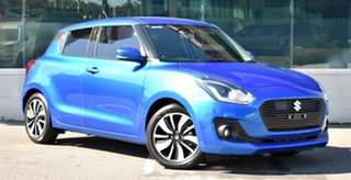 2020 Suzuki Swift AZ Series II GLX Turbo Speedy Blue 6 Speed Sports Automatic Hatchback.