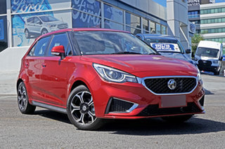 2020 MG MG3 SZP1 MY20 Excite Red 4 Speed Automatic Hatchback.
