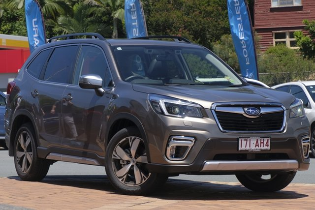 Demo Subaru Forester S5 MY21 2.5i-S CVT AWD Newstead, 2020 Subaru Forester S5 MY21 2.5i-S CVT AWD Sepia Bronze 7 Speed Constant Variable Wagon